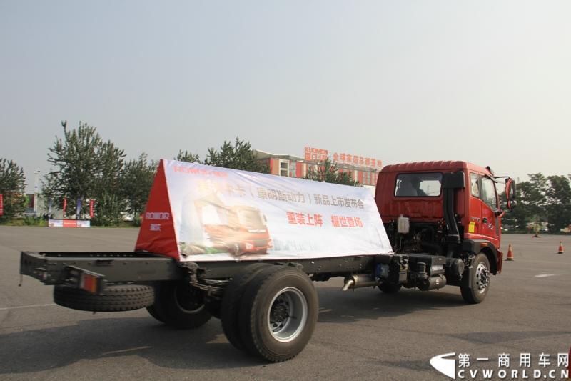 9月11日,福田瑞沃中卡康明斯动力新品上市发布会在北京顺利落幕,福田高层、供应商代表、经销商代表、用户代表共同见证了福田瑞沃康明斯动力新品的首次登场。
