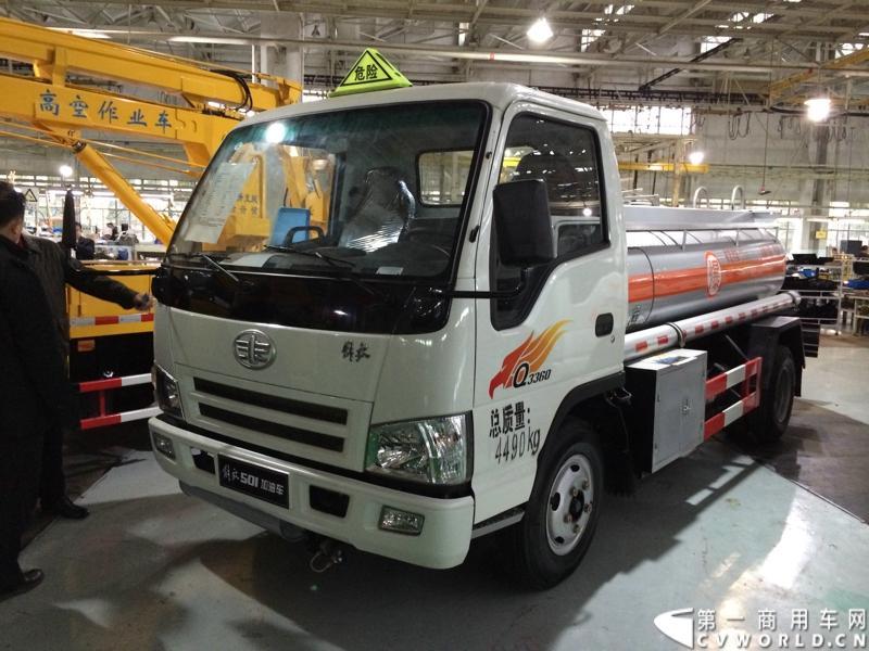 """轻卡主力产品解放s230""""公狮""""在一汽通用汽车红塔生产基地正式量产下线"""