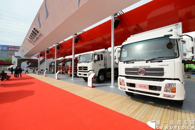 扬州2014年5月车展_东风商用车2014年北京车展图集 第一商用车网 cvworld.cn