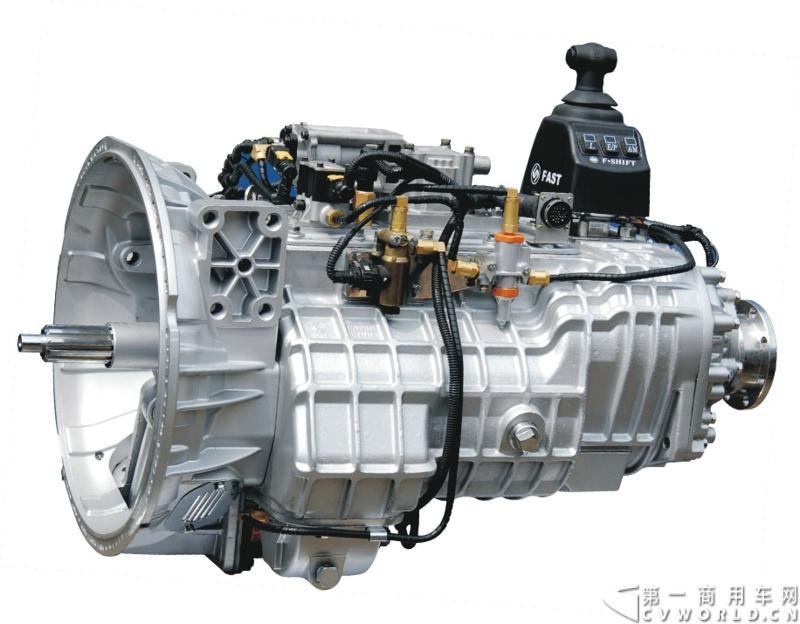 法士特携11款新产品登临2014(第十三届)北京国际汽车展览会,向国内外客户全面展示法士特最新科技成果。图为16JZSD200机械式自动变速器。