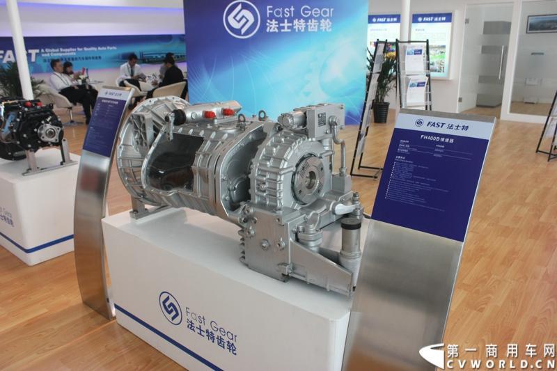 法士特携11款新产品登临2014(第十三届)北京国际汽车展览会,向国内外客户全面展示法士特最新科技成果。图为FH400B缓速器。