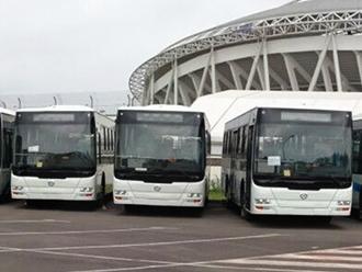 厦门金旅XML6105公交车