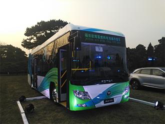 福田欧辉10.5米氢燃料电池客车