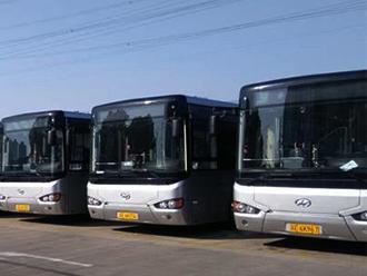 海格12米气电混合新能源公交