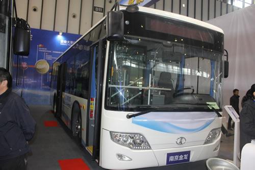 南京金龙njl6100bev纯电动城市客车
