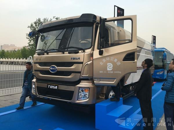 首届BYD Dreams品牌盛典举行 比亚迪纯电动商用车重磅亮相高清图片