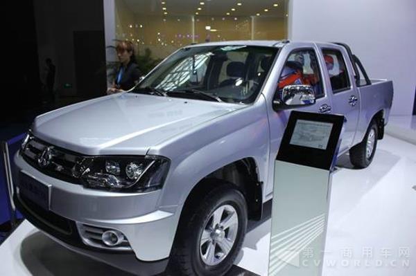 长安神骐F50-五家商用车企来势汹汹 重庆车展看点有哪些高清图片