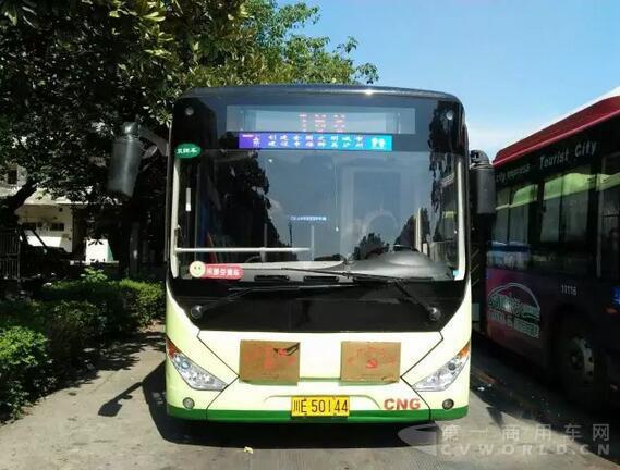 成都双流两次招标纯电动公交 中通客车分羹订单250辆高清图片
