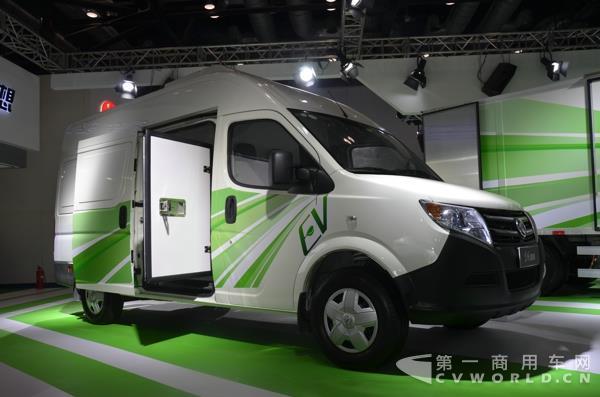 卡车客车各领风骚 新能源汽车成果展看点多高清图片