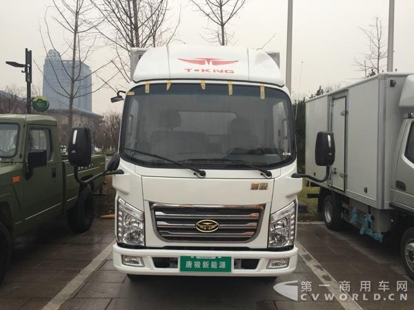 唐骏汽车展示新能源电动汽车K1-2017目标增长10 60年唐骏转型升级高清图片