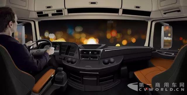 全天候重卡 欧曼EST 510超级卡车安全可靠