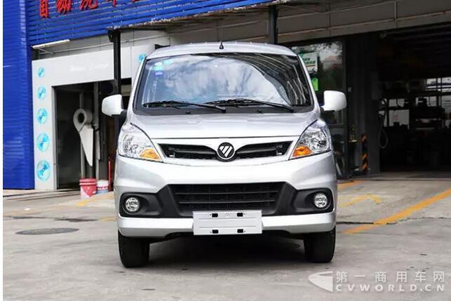 航251公里 福田风景V5将出征深圳新能源物流车挑战赛高清图片