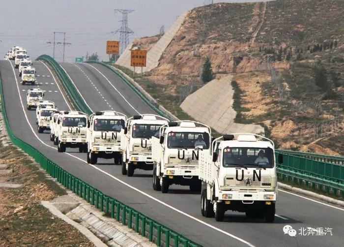 行程1300万公里,UN北奔运输车利比里亚展风采7.jpg
