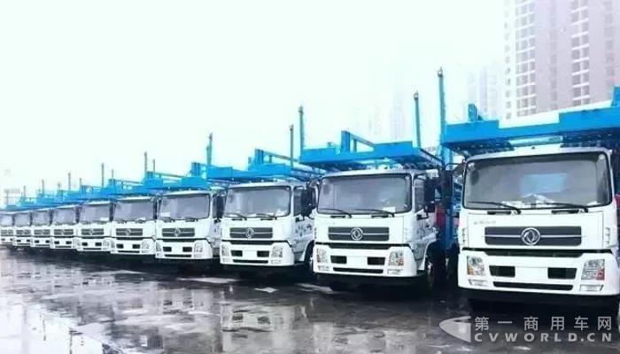 一季度交付1100辆,东风天锦中置轴轿运车引领细分市场!3.jpg