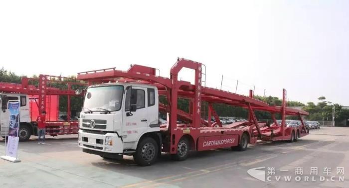 一季度交付1100辆,东风天锦中置轴轿运车引领细分市场!4.jpg