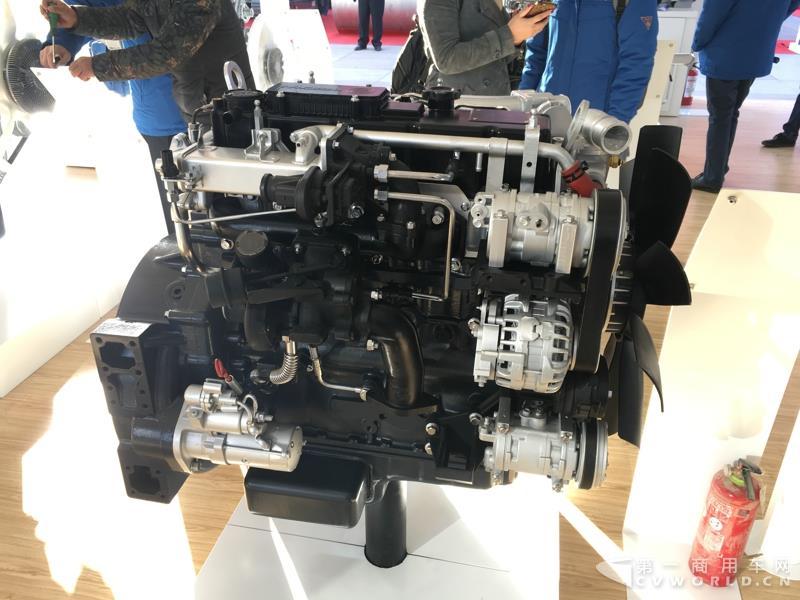 WP4.1N欧六系列柴油发动机