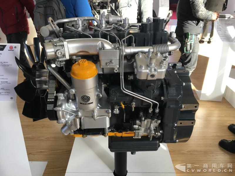 WP3N欧六系列柴油发动机
