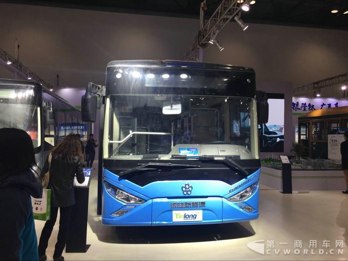 银隆8.5、10.5米氢钛动力公交车
