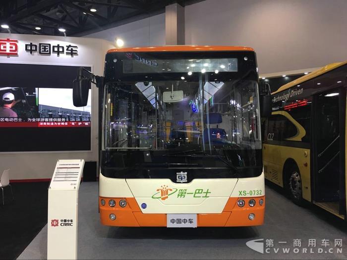 中车电动10米纯电动客车