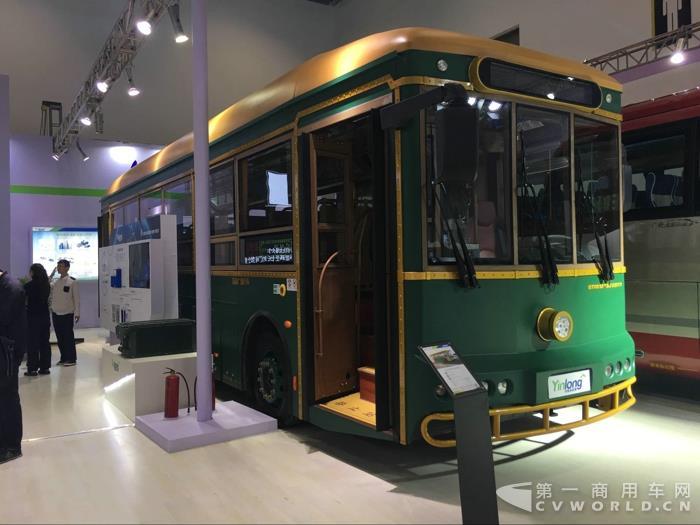 银隆10.5米纯电动观光铛铛车