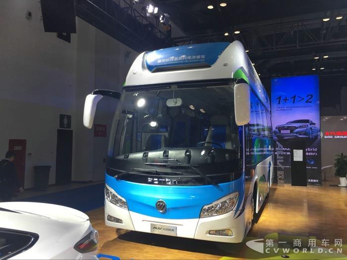 福田欧辉8.5米氢燃料电池客车