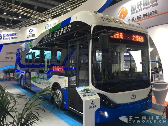 山东沂星氢燃料电池城市客车