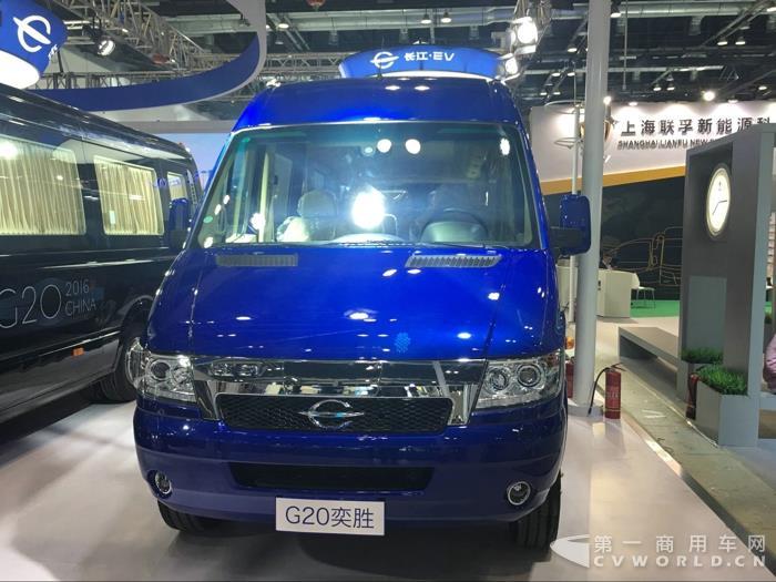 长江G20奕胜纯电动轻客
