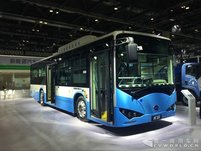 比亚迪K8纯电动客车