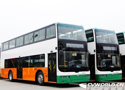 20辆金旅双层公交车将进驻春城昆明